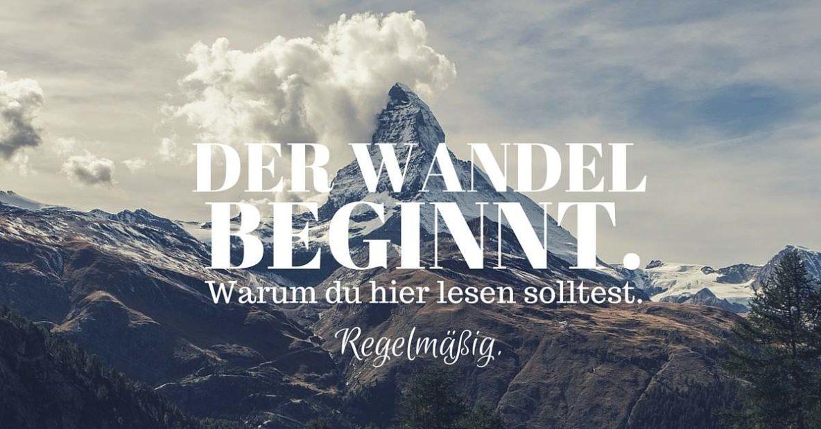 Spiegel Dich: Der Wandel beginnt mit Dir. Willkommen!