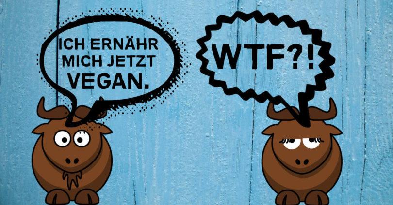 Vegan sein? - Meine erste Diskussion mit einem Veganer